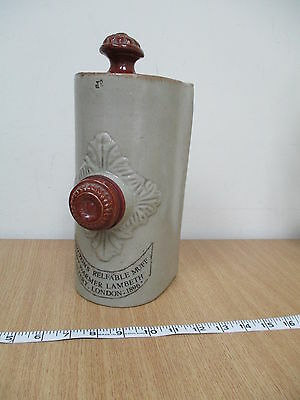 Doultons Relfable Muff Antique Lambeth Pottery Foot Warmer