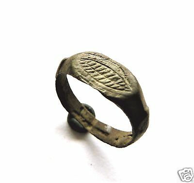 Medieval bronze ring  (228).