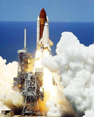 NASA STS-121 Discovery Launch Lift Off 11x14 Silver Halide Photo Print
