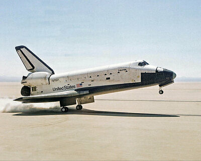 STS-1 Space Shuttle Columbia Touchdown 11x14 Silver Halide Photo Print