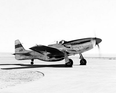 P-51 Mustang on Ramp with Engine 11x14 Silver Halide Photo Print