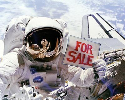 Space Shuttle Astronaut Dale Gardner with Sign 11x14 Silver Halide Photo Print