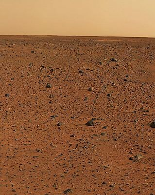 First Color Image from Mars Rover 11x14 Silver Halide Photo Print