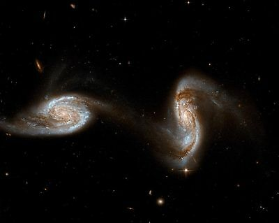 Hubble Space Telescope Interacting Galaxies 11x14 Silver Halide Photo Print