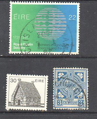 Ireland Used/Mint Set of 3 Stamps