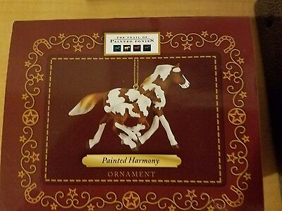 Trail of painted ponies, Harmony painted horse ornament, Enesco