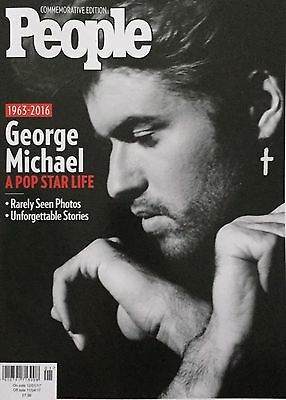 People Magazine George Michael - A Pop Star Life Special Commerorative  Edition