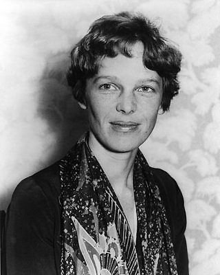 Aviator Amelia Earhart Portrait 1928 11x14 Silver Halide Photo Print