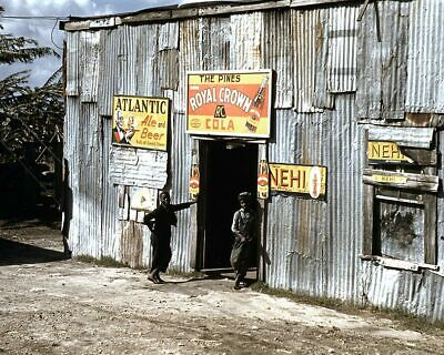 Black Migrant Workers at Juke Joint 1941 11x14 Silver Halide Photo Print