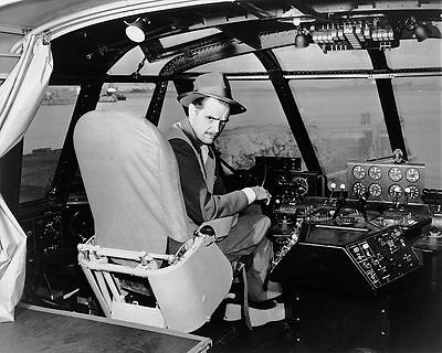 Aviator Howard Hughes Spruce Goose Cockpit 11x14 Silver Halide Photo Print