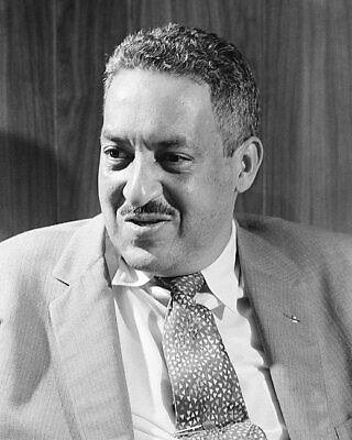 Civil Rights Leader Thurgood Marshall 1957 11x14 Silver Halide Photo Print