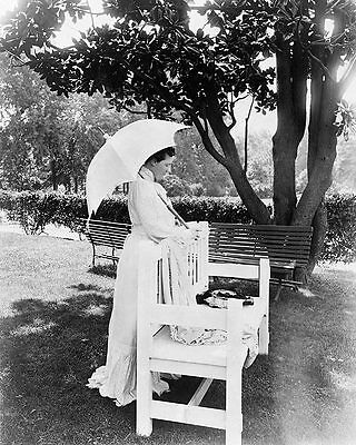 First Lady Mrs. Theodore Roosevelt 1904 11x14 Silver Halide Photo Print