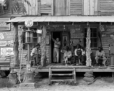 Dorothea Lange Country Store on Dirt Road 11x14 Silver Halide Photo Print