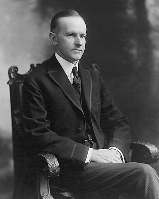 Governor Calvin Coolidge Portrait 11x14 Silver Halide Photo Print