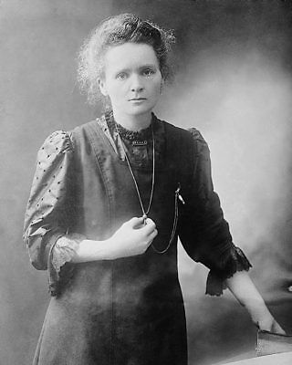 MADAME MARIE CURIE PORTRAIT 8x10 SILVER HALIDE PHOTO PRINT