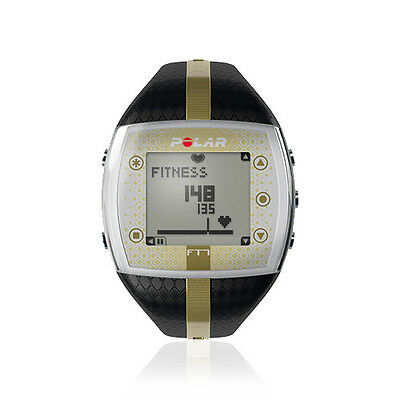 00 Polar FT7 Lady Heart rate monitor, Black/Gold