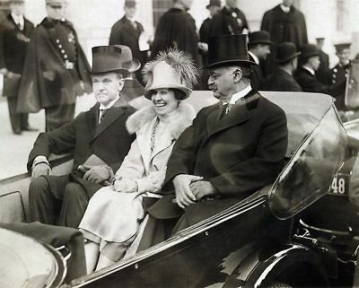 President Calvin Coolidge & Mrs. Coolidge 11x14 Silver Halide Photo Print