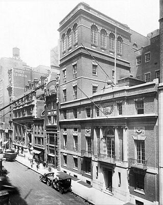 The Harvard Club, New York City 1920 11x14 Silver Halide Photo Print