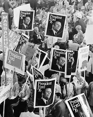 President Gerald Ford Republican Convention 11x14 Silver Halide Photo Print