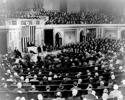 President Herbert Hoover Addressing Congress 11x14 Silver Halide Photo Print