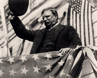 President Theodore Roosevelt in New Jersey 11x14 Silver Halide Photo Print