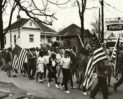 Selma to Montgomery Civil Rights March 1965 11x14 Silver Halide Photo Print