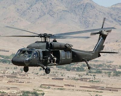 UH-60 Blackhawk Helicopter US Army 11x14 Silver Halide Photo Print