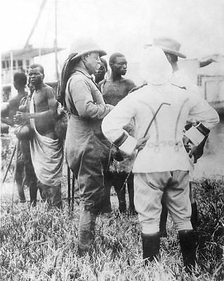 President Theodore Roosevelt in Africa 1910 11x14 Silver Halide Photo Print