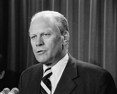 President Gerald Ford 1974 11x14 Silver Halide Photo Print