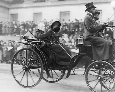 President Woodrow Wilson in Carriage 11x14 Silver Halide Photo Print