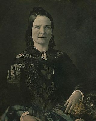 Mary Todd Lincoln 3/4 Seated Portrait 11x14 Silver Halide Photo Print