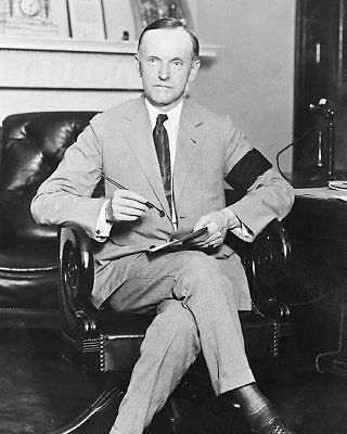 President Calvin Coolidge Portrait, 1923 11x14 Silver Halide Photo Print