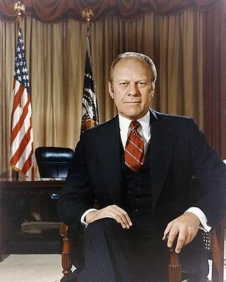 President Gerald Ford Official Portrait 11x14 Silver Halide Photo Print