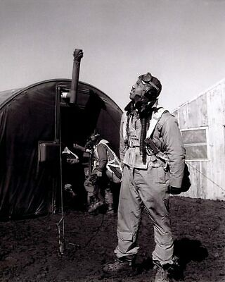 Toni Frissell WWII Tuskegee Airman in Italy 11x14 Silver Halide Photo Print