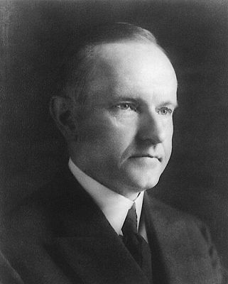 President Calvin Coolidge Portrait 11x14 Silver Halide Photo Print