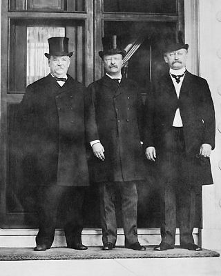 Pres. Grover Cleveland & Teddy Roosevelt 11x14 Silver Halide Photo Print