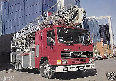 Greater Manchester County Fire Service Volvo FL10/Bedwas/Simon ST290S Postcard