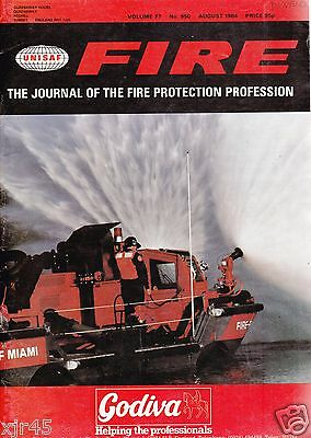 FIRE Journal - AUGUST 1984