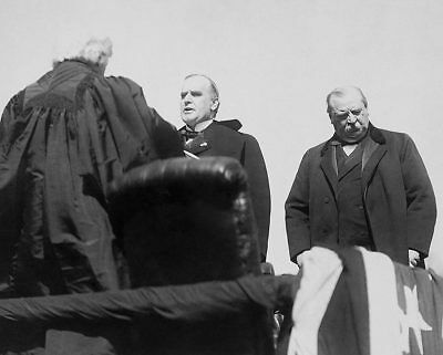 President William McKinley Taking Oath of Office 11x14 Silver Halide Photo Print