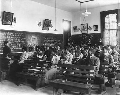 Tuskegee Institute Class, Tuskegee, Alabama 11x14 Silver Halide Photo Print