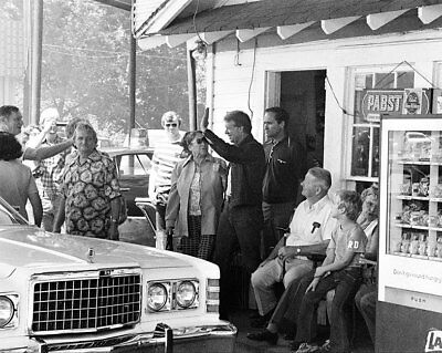 Jimmy Carter Campaign Stop At Plains, Georgia 11x14 Silver Halide Photo Print