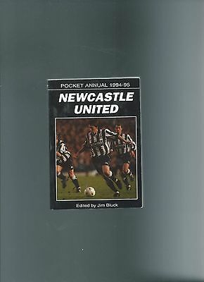 newcastle united pocket annual 94/95 (258 pages)