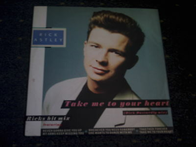 """Rick Astley-Take Me To Your Heart 12"""" Single"""