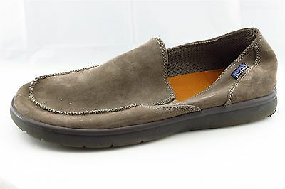 Patagonia Men Shoes Size 13 Brown Leather Loafers & Slip Ons
