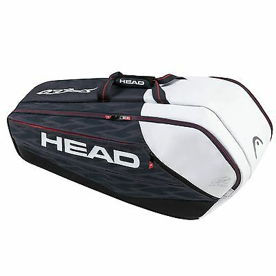 Head Djokovic Supercombi 9 Tennis Training Practice Racket Bag