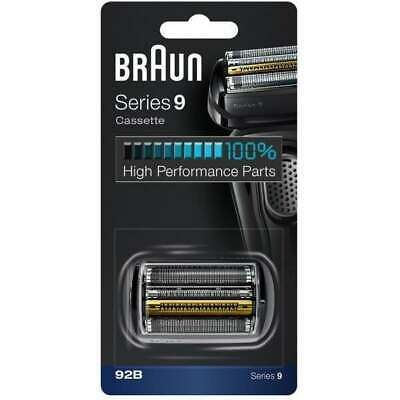 Braun 92B Replacement Foil & Cutter Cassette Head For Series 9 Shavers - 90B 92S