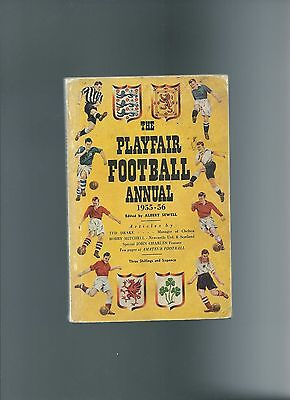 playfair football annual 55/56 (newcastle united fa cup win) (146 pages)