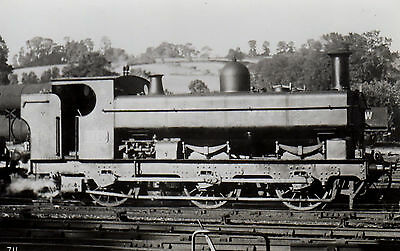 Photo GWR 0-6-0T No 1650 at unknown location loco W/drawn March 1938