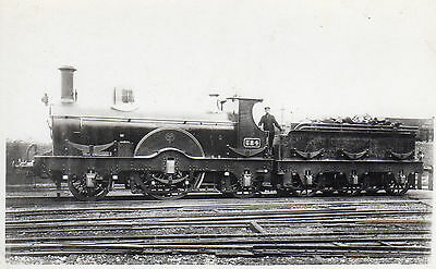 Photo GWR 2-2-2 No 584 Badminton Class at unknown location