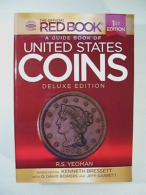 New Official Red Book United States Coins Deluxe Guide Book 1St Edition Yeoman